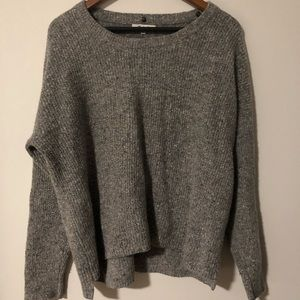 Lose fit gray Madewell sweater